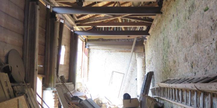 Průzkum krovu fíkovny na zámku v Lysicích